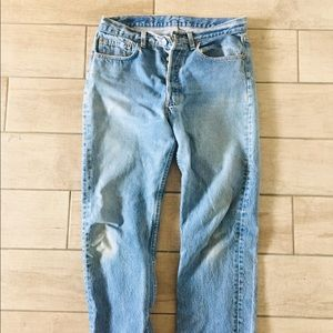 Button fly Levi's 501s